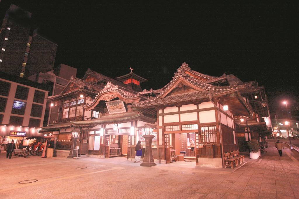 国の重要文化財 道後温泉本館